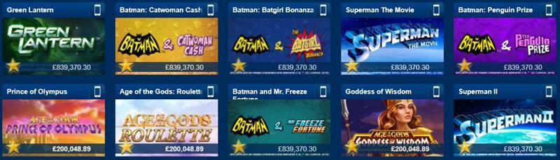 Betfred Casino Jackpots