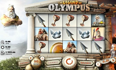 Microgaming Legend of Olympus