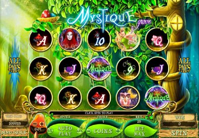 Microgaming Mystique Grove