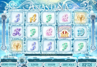 Microgaming The Lost Princess Anastasia