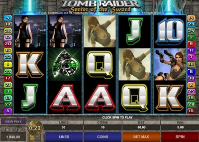 Microgaming Tomb Raider II