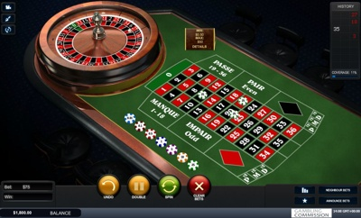 Playtech French Roulette