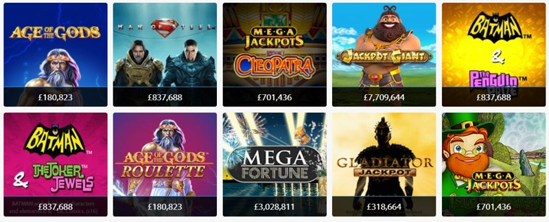BGO Casino Jackpot