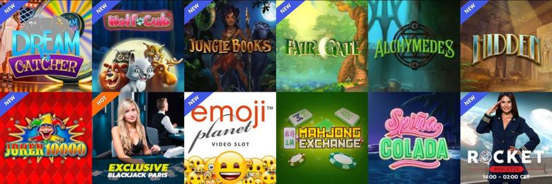 Thrills Casino Games