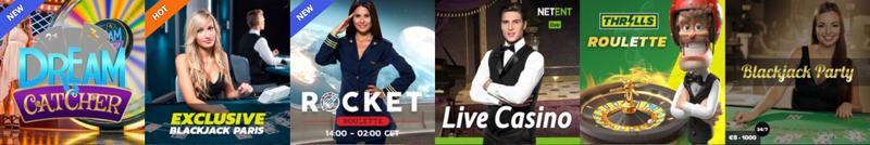 Thrills Casino Live
