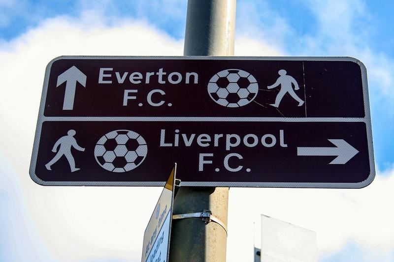 Everton Liverpool Local Rivalry