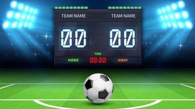 Football Scoreboard 400