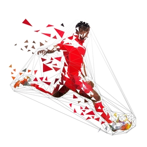 Footballer Disintegrating