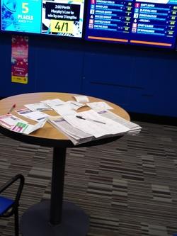 Inside Betting Shop