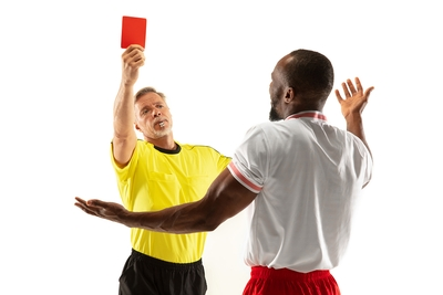 Player Shown Red Card