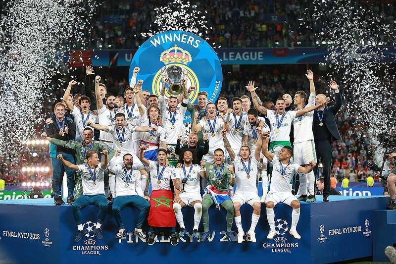 Real Madrid Winning