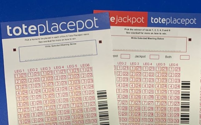 Tote Placepot Slips
