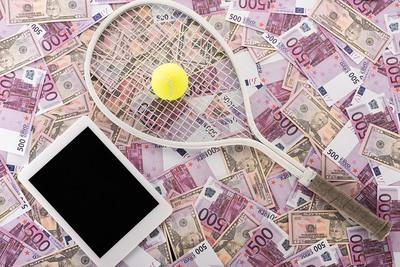 Tennis Betting Tablet Money
