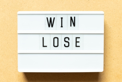 Win Lose Lightbox