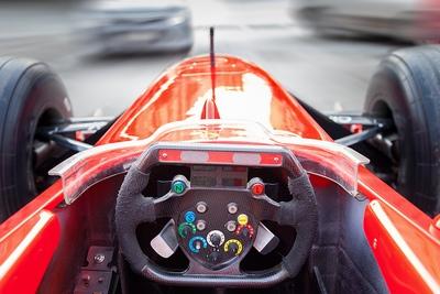 F1 Car on Street