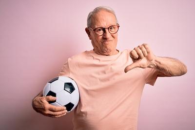 Football Thumbs Down No