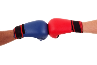 Touch Gloves Boxing
