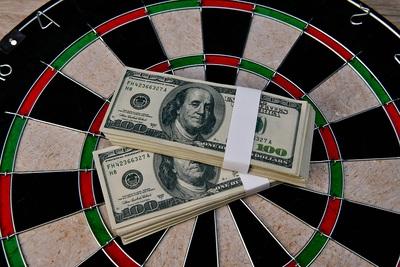 Dart Board Money