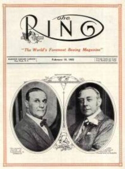 The Ring Boxing Magazine First Issue
