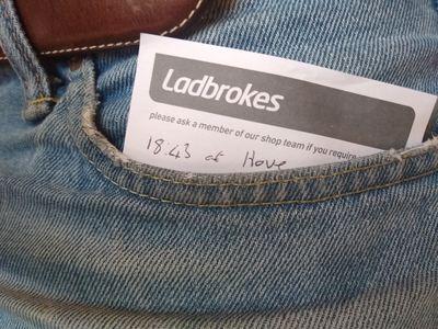 Betting Slip in Pocket