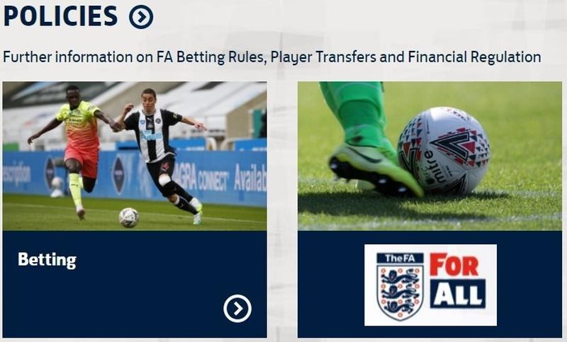 FA Betting Rules