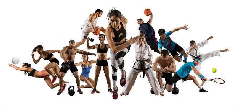 Multi Sports Collage
