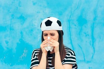 Football Fan Crying