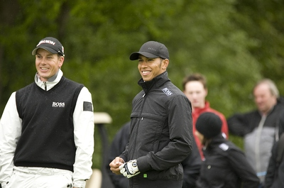 Pro Am Golf Lewis Hamilton