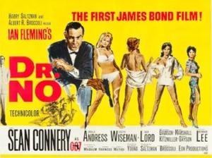 Dr No Film Poster