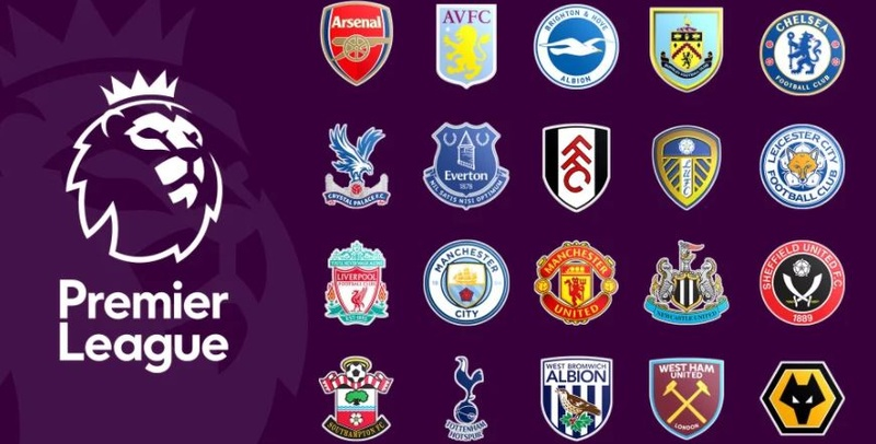 Premier League Logo and Teams