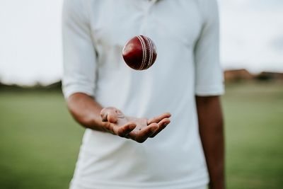 Throwing Catching Cricket Ball