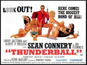 Thunderball Film Poster
