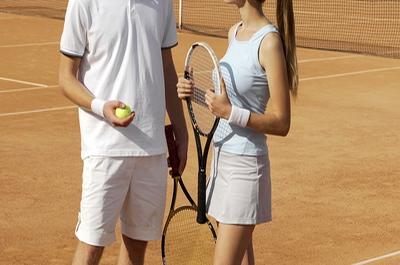 Men and Women Tennis