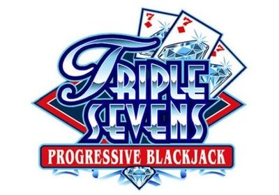 Triple Sevens ProgressiveBlackjack