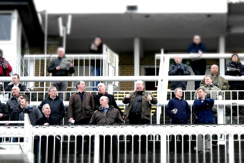 Punters at the Horses