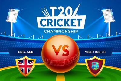 T20 Cricket England West Indies
